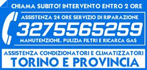 Centri assistenza condizionatori e climatizzatori Torino. Riparazione, manutenzione, pulizia filtri e ricarica gas condizionatori.