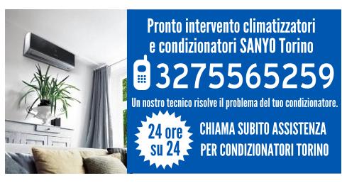 Pronto intervento climatizzatori e condizionatori SANYO Torino