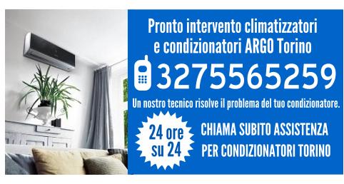 Pronto intervento climatizzatori e condizionatori argo Torino