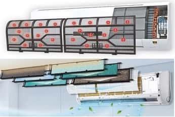 Pulizia filtri condizionatori Torino